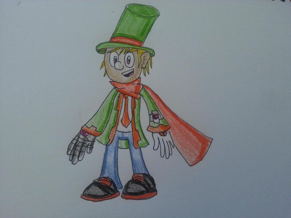 New Cartoon Guy. by OogaHooga