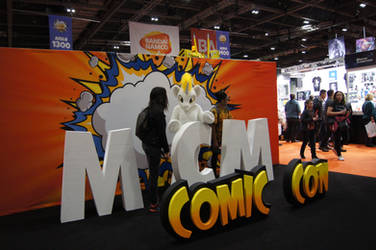 the big letters of Comic con by Greattie