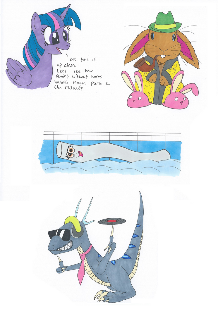 Animal Pones by Greattie