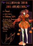 Hatomi. Halloween Desing