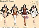 OP OC. Portgas D. Athena.