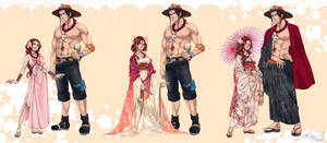 ~One Piece OC.AceHato~ Lovers Reference.