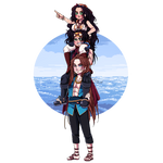 OP OC || Spade pirates || To the adventure