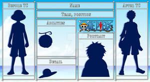 One Piece OC || Template