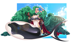 One Piece OC || Aphrodite and Hatomi