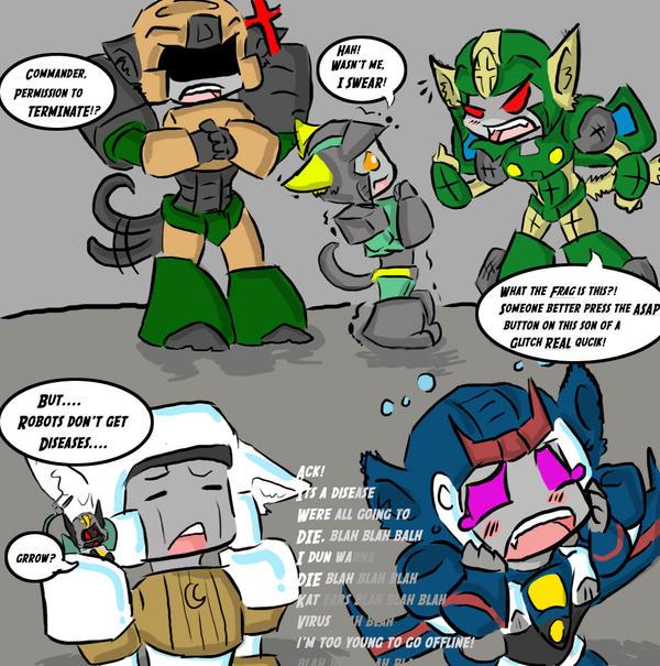 Kittyformers Disease by AccidentProneComics