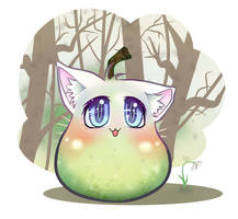 cat-pear by tiiqup