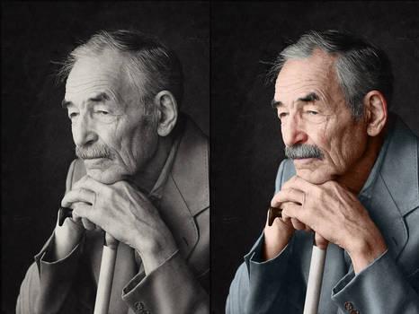 Old portrait - Colorization
