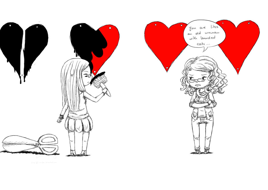 I Hate Valentines Day By Arinfea On Deviantart