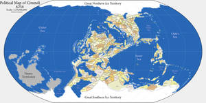 Map: Cirundi 2.0: Political by thevizir