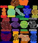 Horror Shop: Faction Logos by thevizir