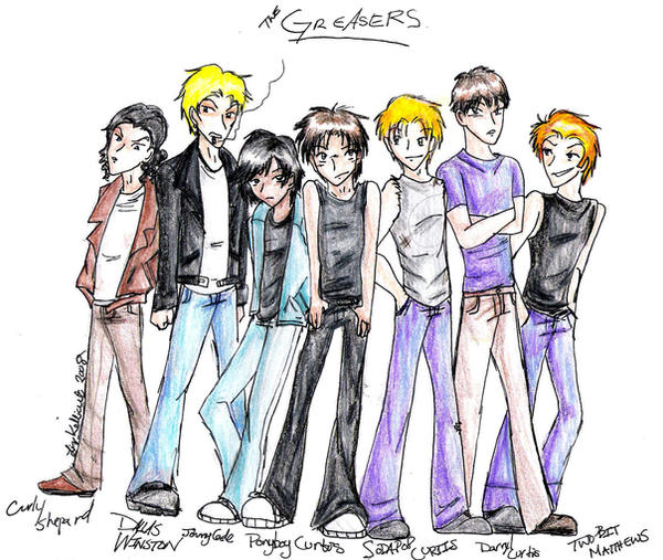 outsiders gang members The outsiders by se hinton home / literature / the outsiders / themes /  pony's gang was formed primarily to protect the members from the socials  loyalty quote #3 you take up for your buddies no matter what they do when you're in a gang, you stick up for the members if you don't [] it isn't aging any more it's a snarling.