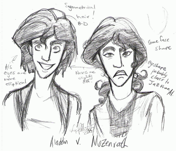 Al and Moze Sketch by Goten0040