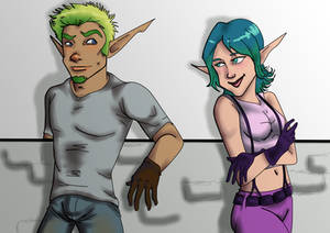 Jak and Keira