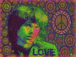 Jim Morrison by BeatleLinda