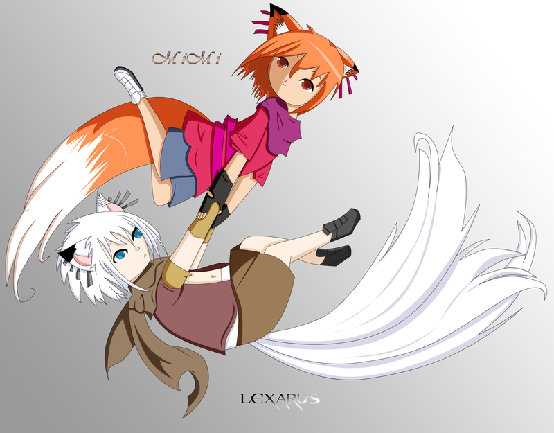 Lexarus and Mimi - Colored by Arcsol