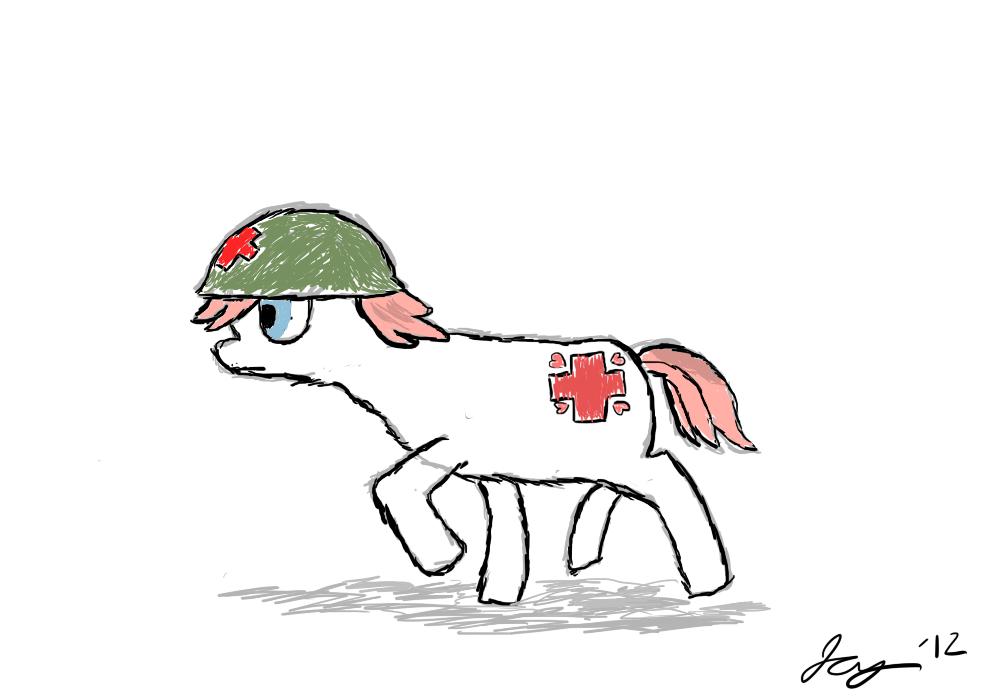 Battlefield Medic Nurse Redheart by JABrady