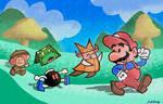 Paper Mario Super Show