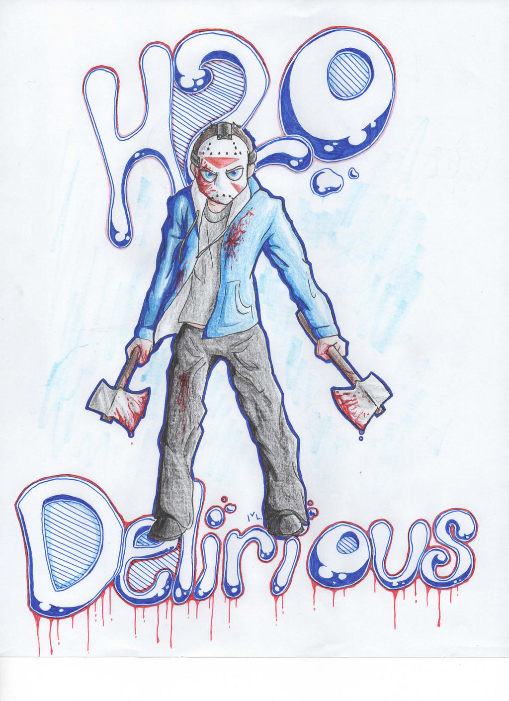 The Amazing Delirious by Sn0wyAnGel on DeviantArt H20 Delirious Drawings
