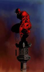 (slightly demonic) Daredevil