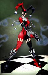Harley Quinn - colored