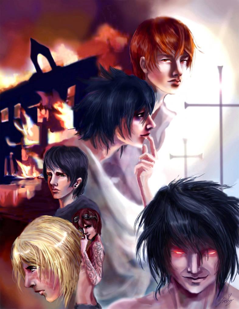 Redeemer cover art by arrowchild