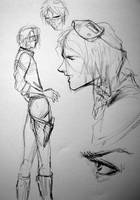 Party Poison sketch by arrowchild