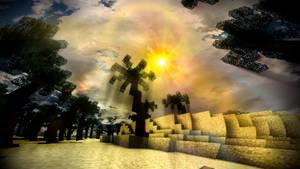 The Ineffable Desert Sun by TJSeabury