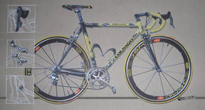 My brother's Colnago