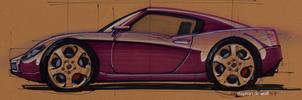 Concept car design by w0lfb0i