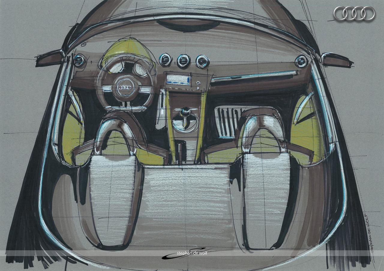 Audi TT Concept interior by w0lfb0i