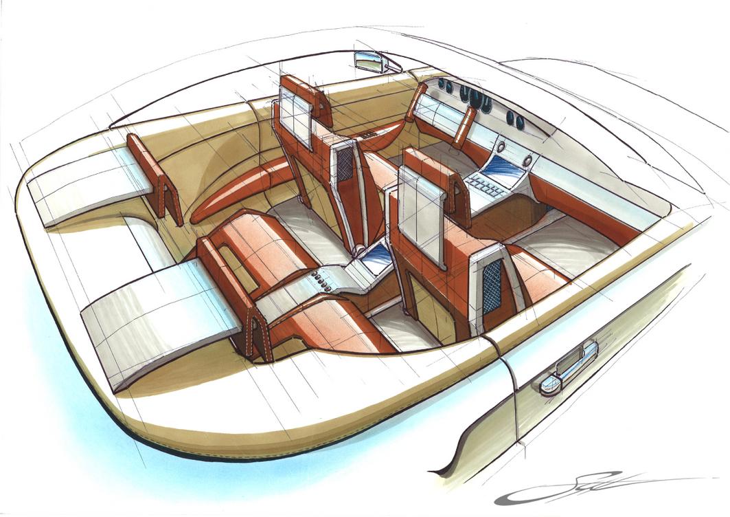 Concept Car Interior by w0lfb0i on DeviantArt