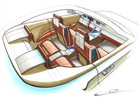 Concept Car Interior by w0lfb0i