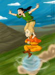 Tenzin And Lin As Kids- Faster!