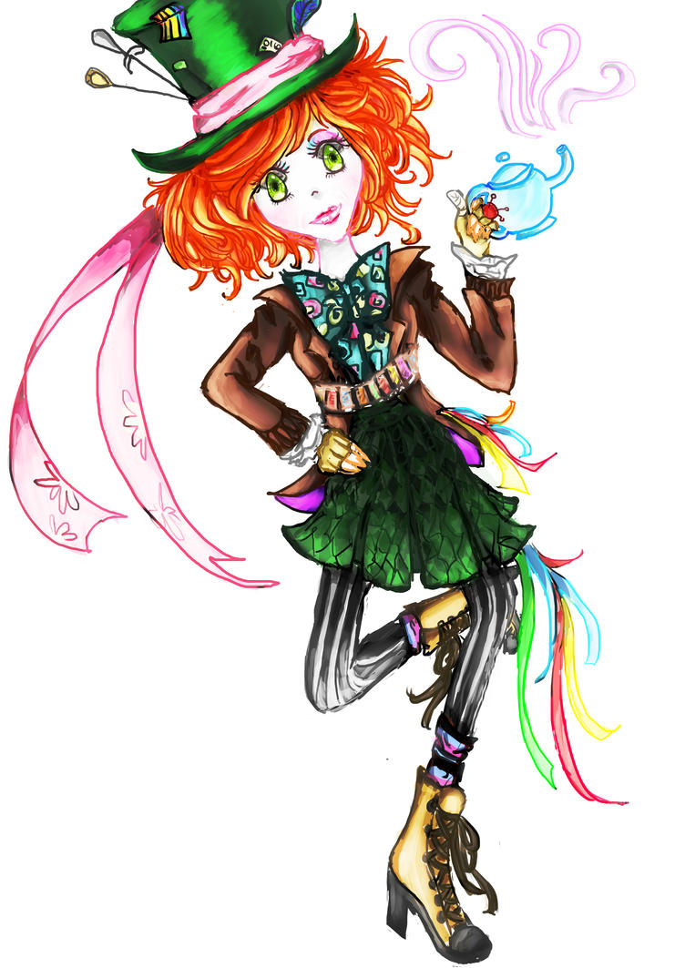 Mad as a hatter by Scissor-Bitten