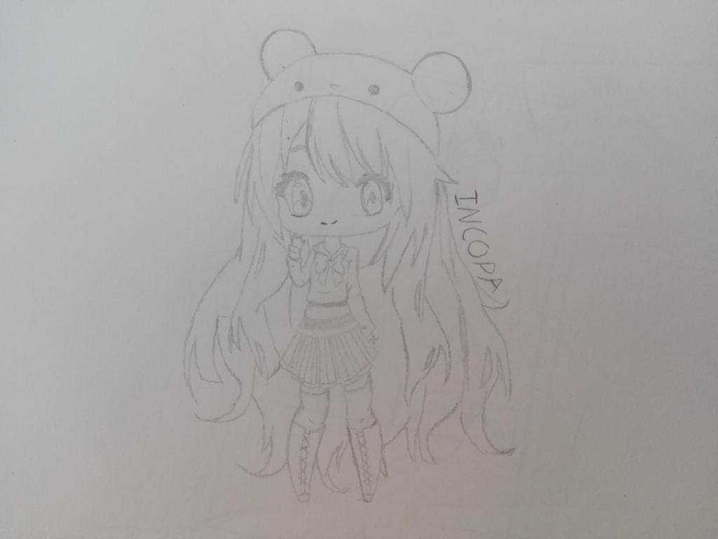 Chibi Girl by Incopa