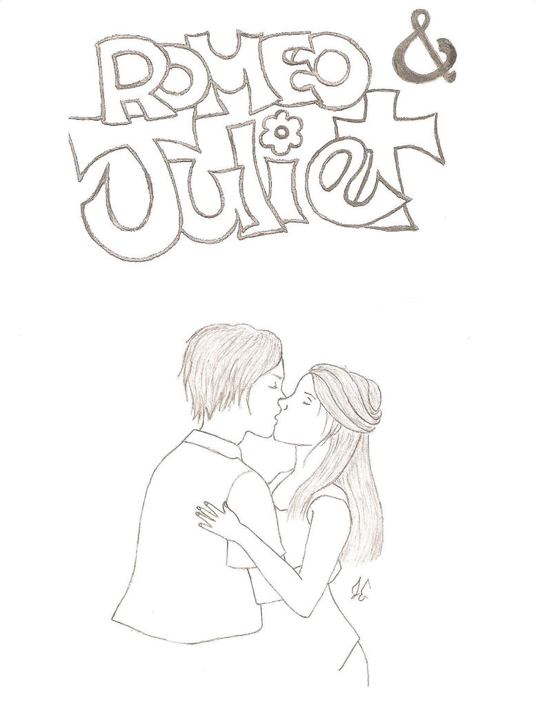 and romeo juliet easy drawings jeanenzie DeviantArt and by Romeo Juliet on