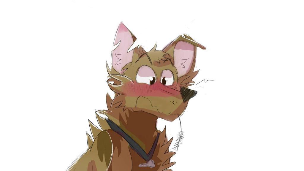 Uh, hey cat.. by Endeyarts