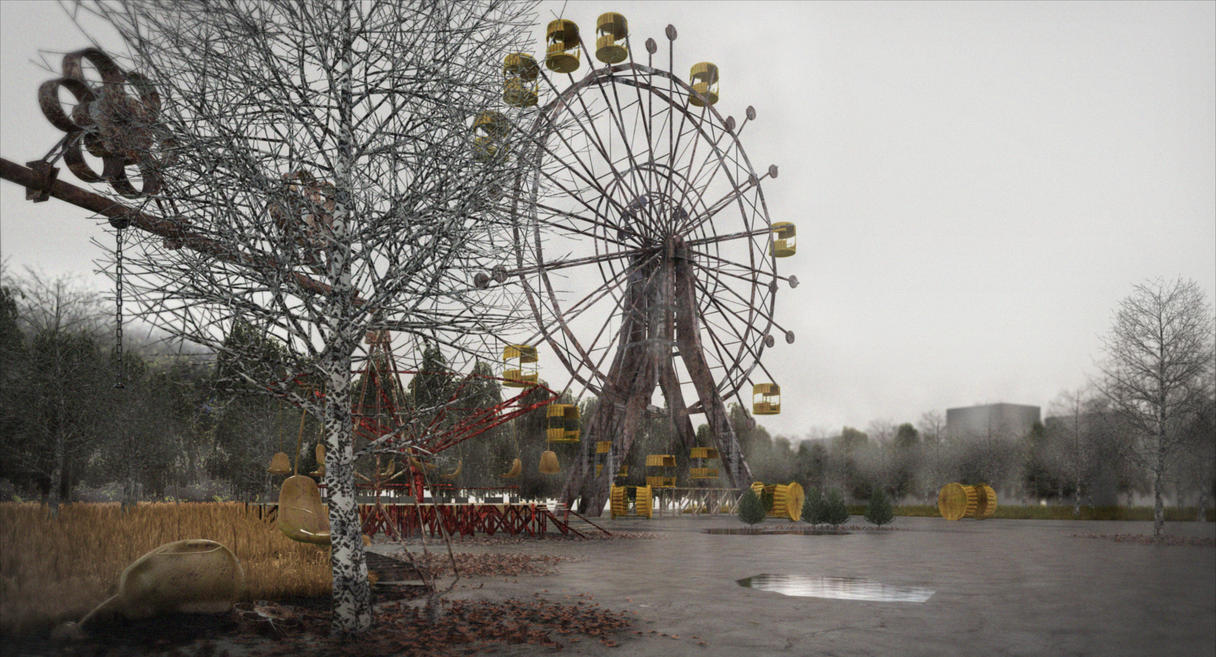Deserted Funfair by saad1993