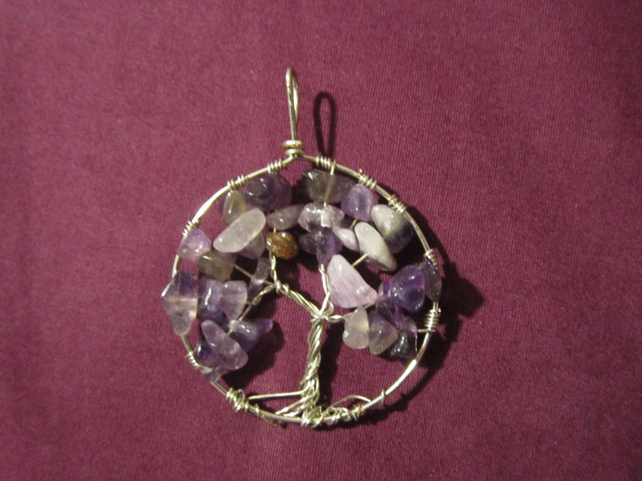 Amethyst Tree Of Life by NikkitheNinja