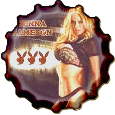 Jenna Jameson bottle cap by bountyhunter25
