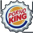 Porno King Bottle cap
