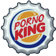Porno King Bottle cap by bountyhunter25