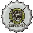 Deftones Bottle Cap by bountyhunter25