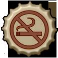 No Smoking Bottle Cap by bountyhunter25