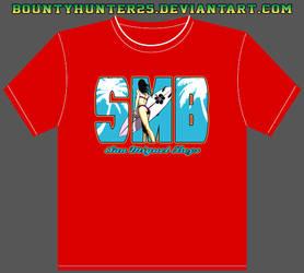 SMB x-mas party shirt by bountyhunter25