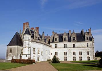 Amboise castle by Ceridwenn