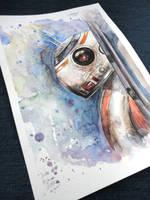 Curious BB-8 by VarastettuLapsi