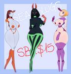 [OPEN] Sea slugs (adopts) by VApplepie