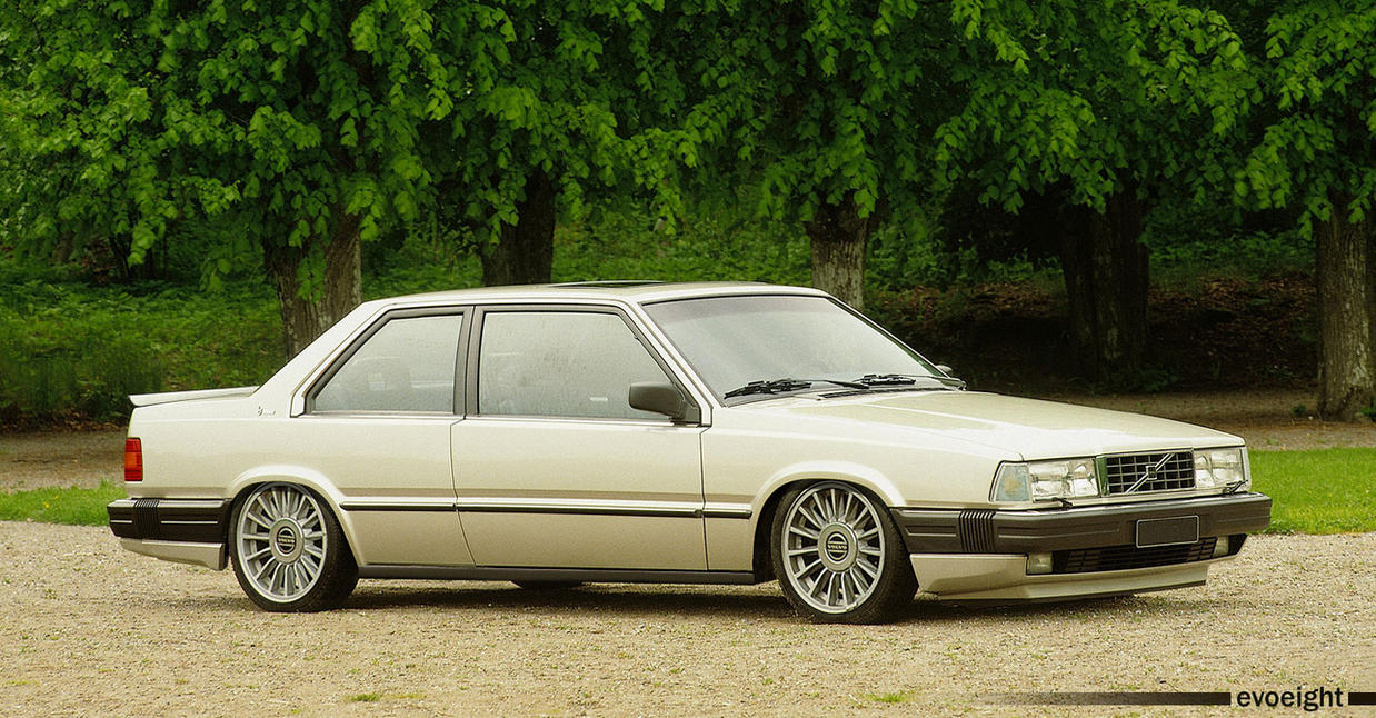 Volvo 780 Coupe by evoeight on DeviantArt